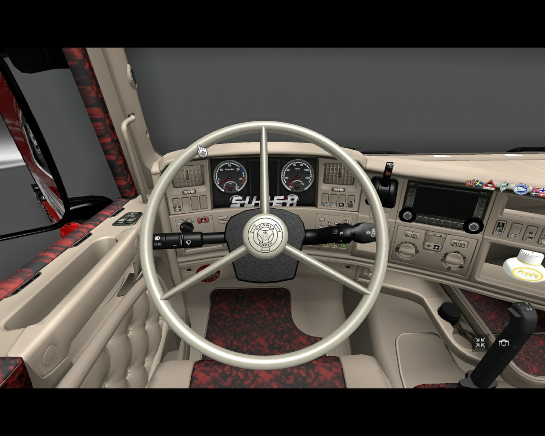 Scania RJL Topline Interior