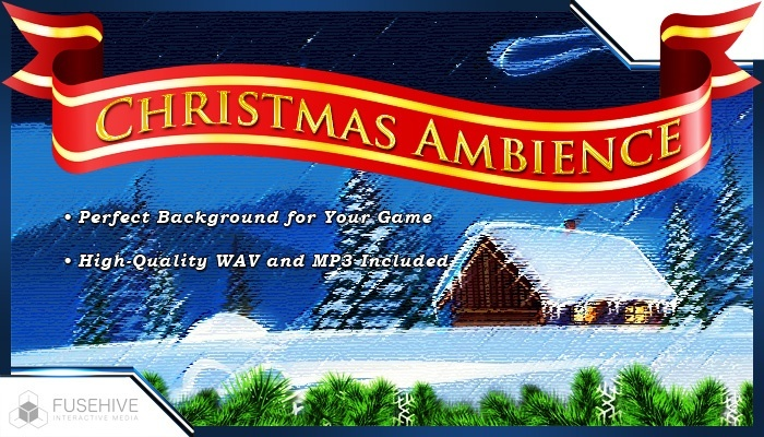 Christmas Ambience Relaxing Background Loop