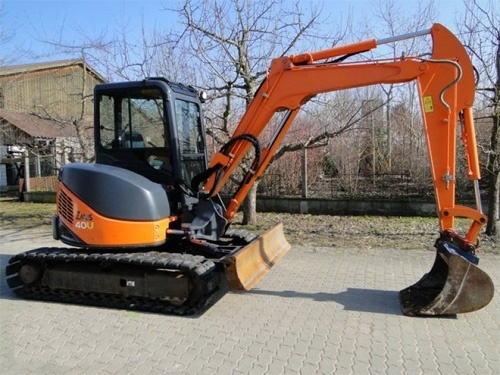 Hitachi ZAXIS 50U-2 Excavator Parts Catalog Download