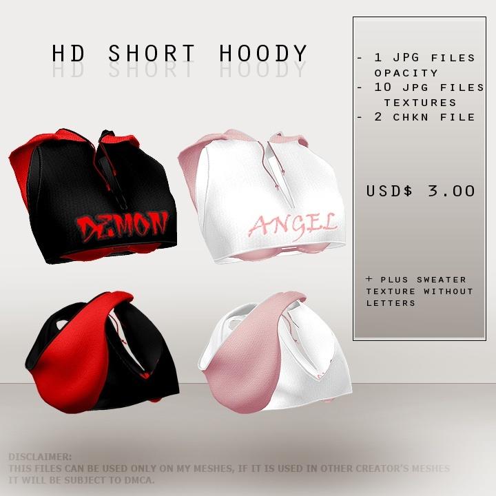 ISFS Short Hoody - Textures