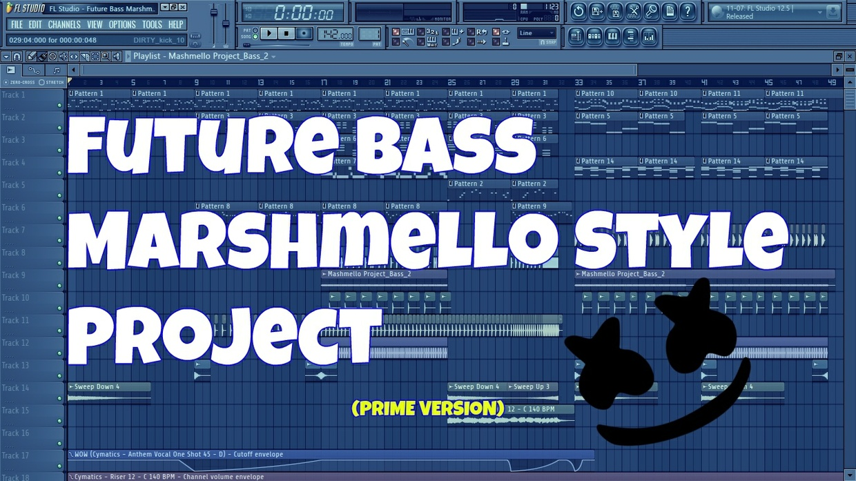 FL Studio - Future Bass Marshmello Style Project (Prime Version)