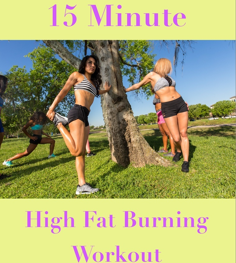 15 Minute Fat Burning Workout