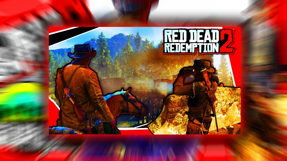 Red Dead Redemption 2 Thumbnail Template (RDR 2) - PSD