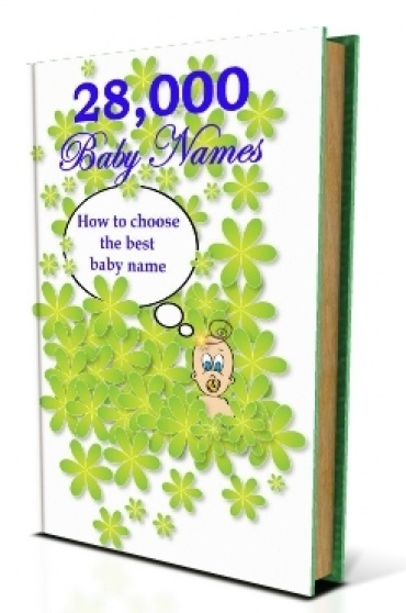 FREE eBook With Master Resell Rights MRR 3rd Trimester 28000 Baby Names eBook List