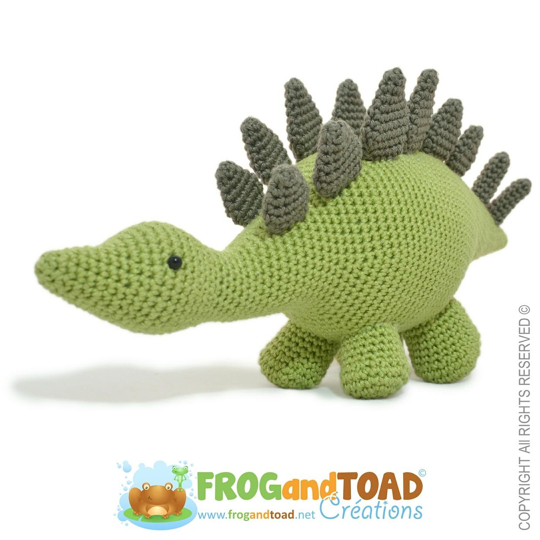 Stegosaurus Dinosaur - FROGandTOAD Créations ©