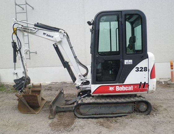 Bobcat 325, 328 Hydraulic Excavator (D Series) Service Repair Manual (S/N 232511001 & Above...)