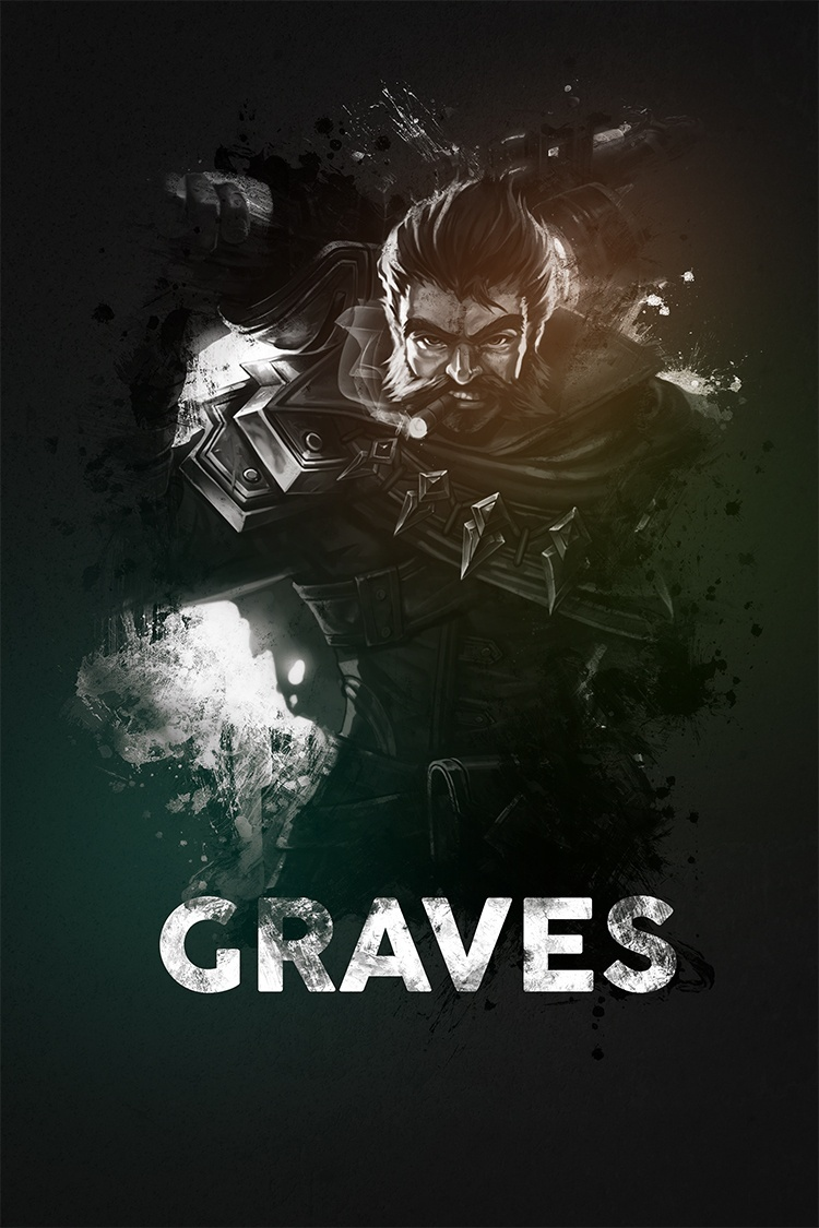 League Of Legends Graves Naumovski Sellfy Com