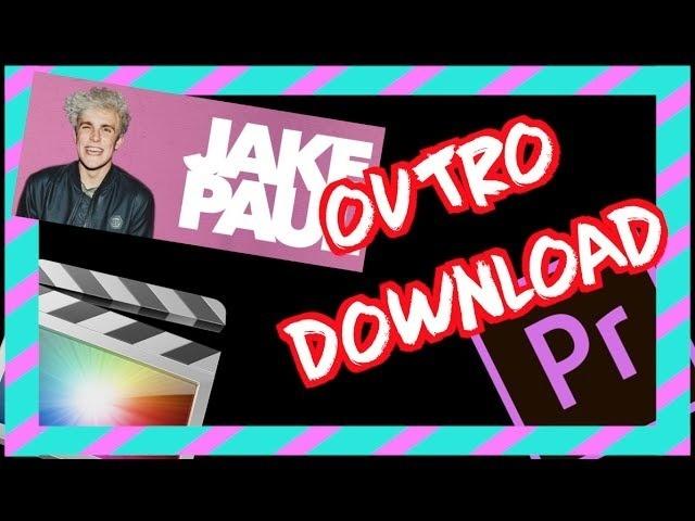 SAVAGE Jake Paul OUTRO Download - Final Cut Pro & Adobe Premiere