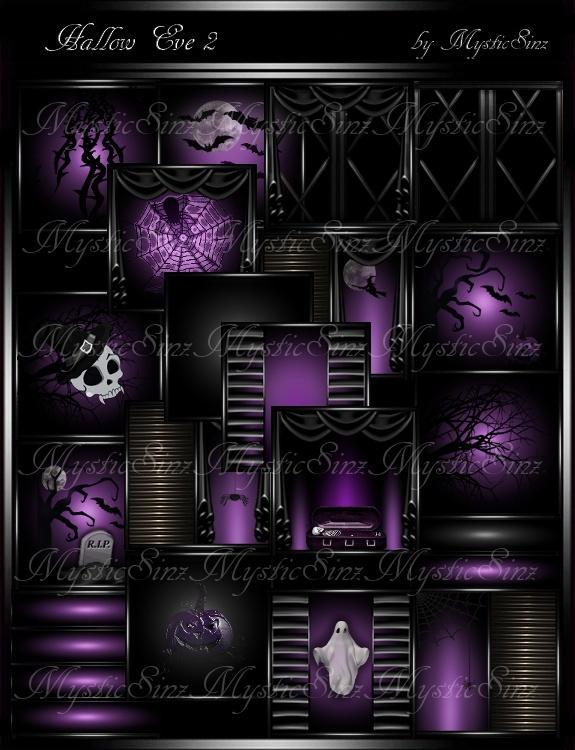 Hallow Eve 2 Room Textures IMVU