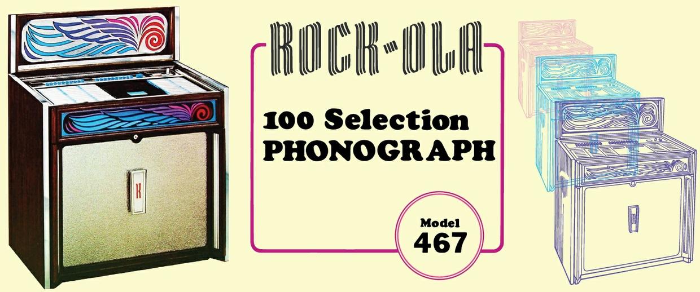 Rock Ola 467 Service Manual and Parts Catalog