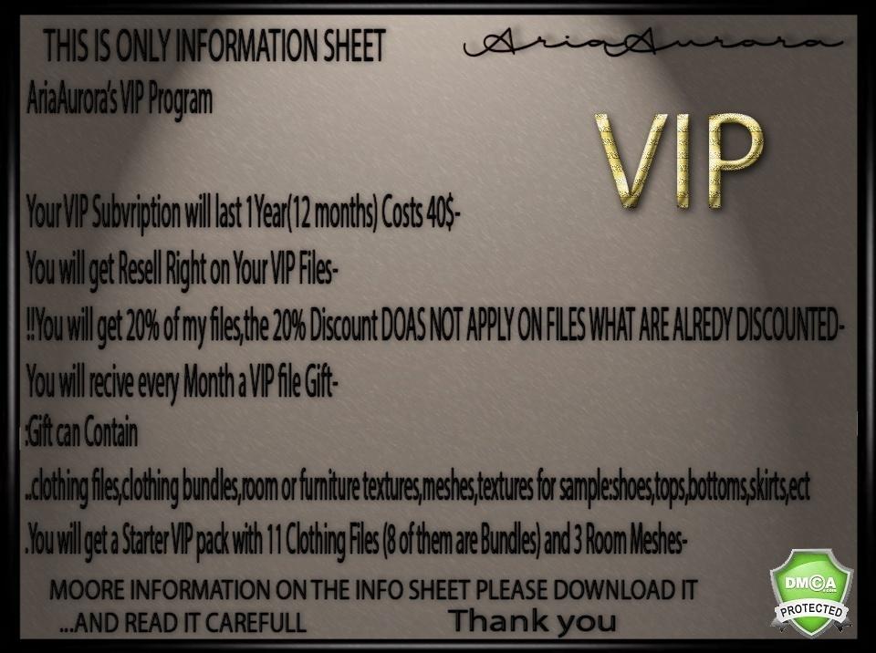 VIP Membership Starter Pack!!