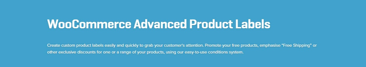 WooCommerce Advanced Product Labels 1.0.4 Extension