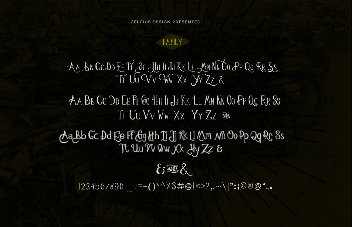 Leathery Typeface