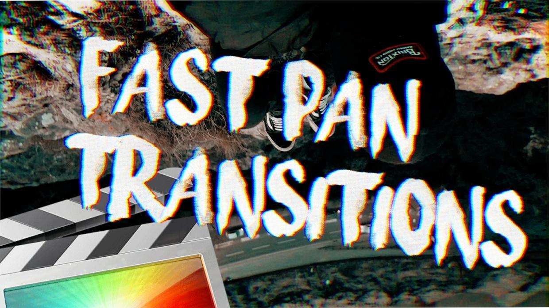 Fast Pan Transition Pack - Final Cut Pro X