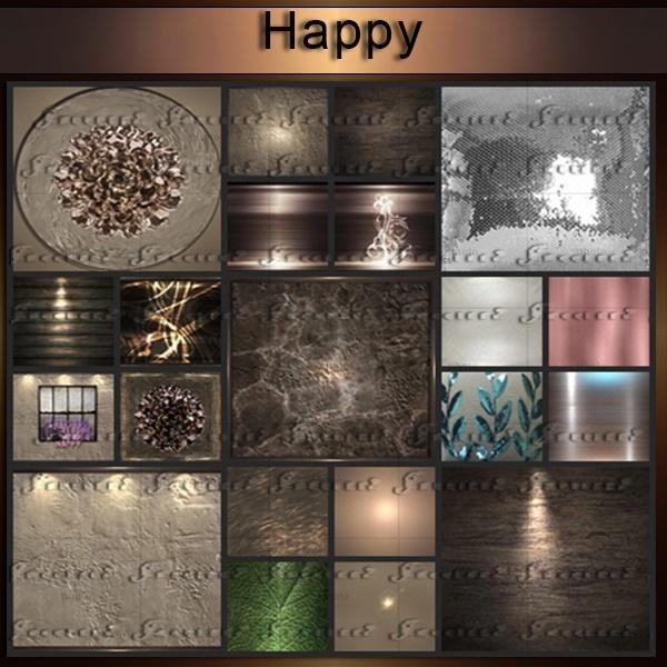 Happy-33 Textures