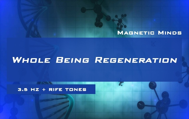 Whole Being Regeneration - Full Body Healing + Detoxification - Rife Frequencies - Delta Waves