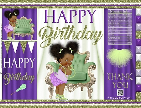 printable-chip-bags-royal-princess-purplegreen-african-birthday