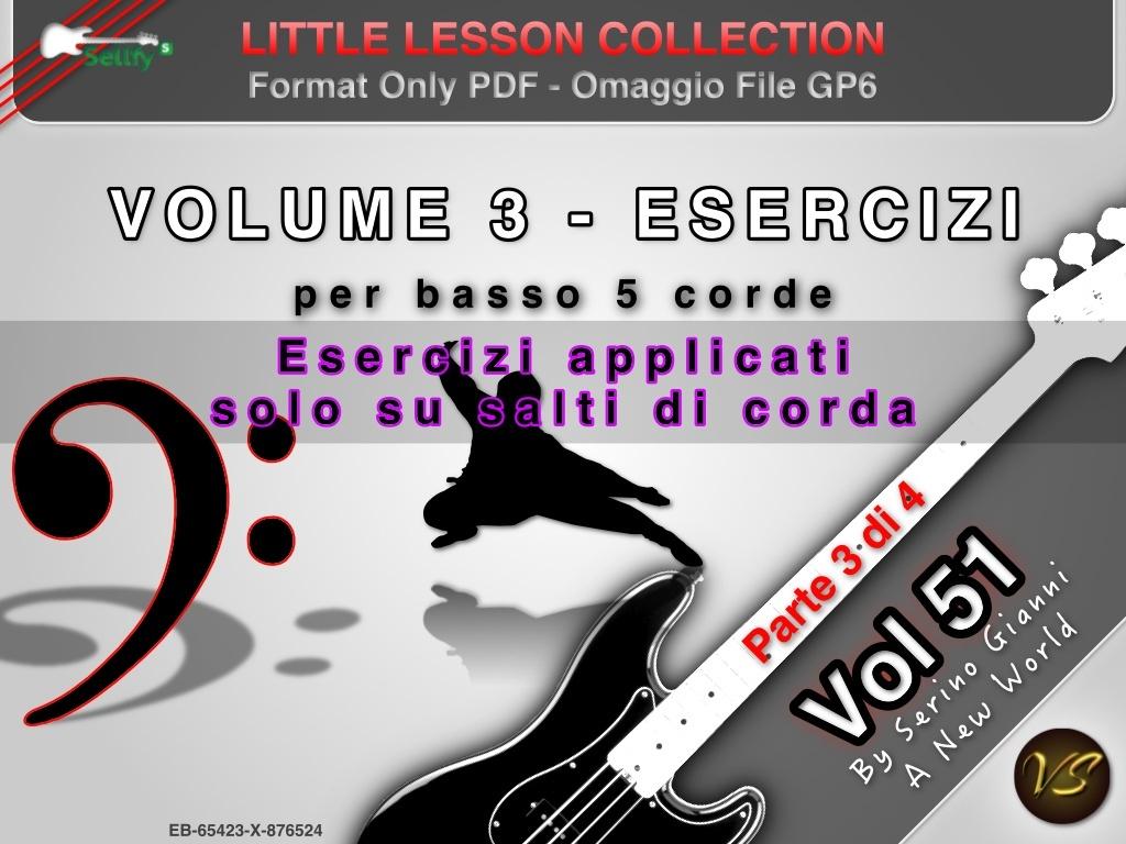 LITTLE LESSON VOL 51 - Format Pdf (in omaggio file Gp6)