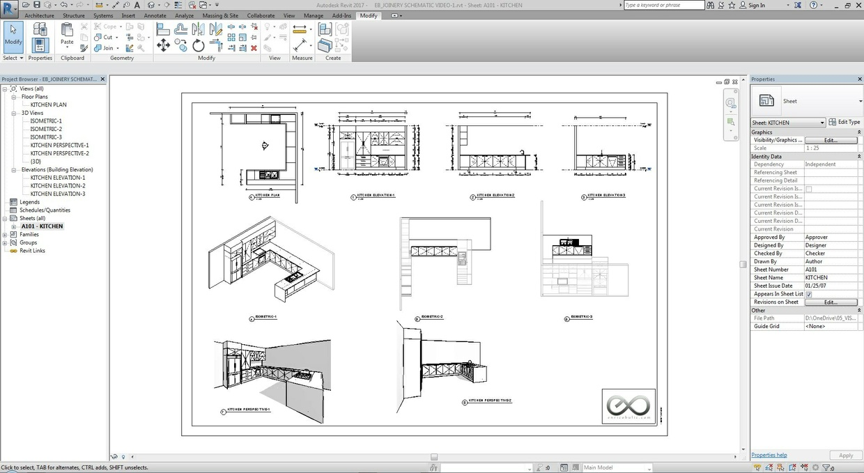Revit Cabinetry System
