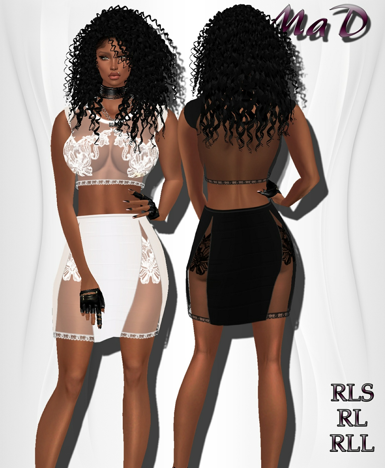 MaD Lace Dress 2 colors ONLY CATTY