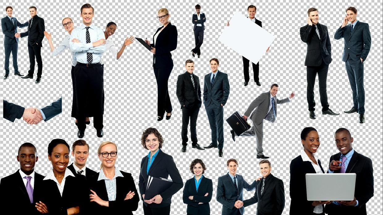 Business Transparent Images Pack