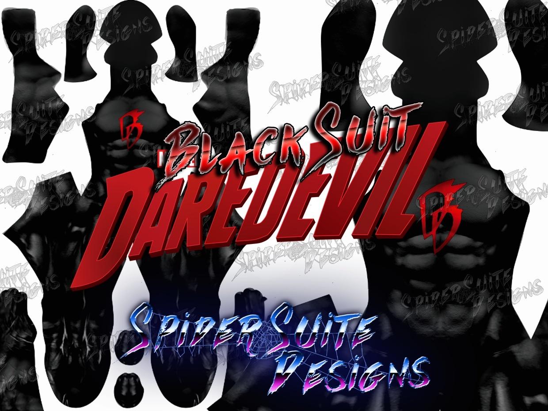 Classic Black Suit Daredevil 2017 Pattern