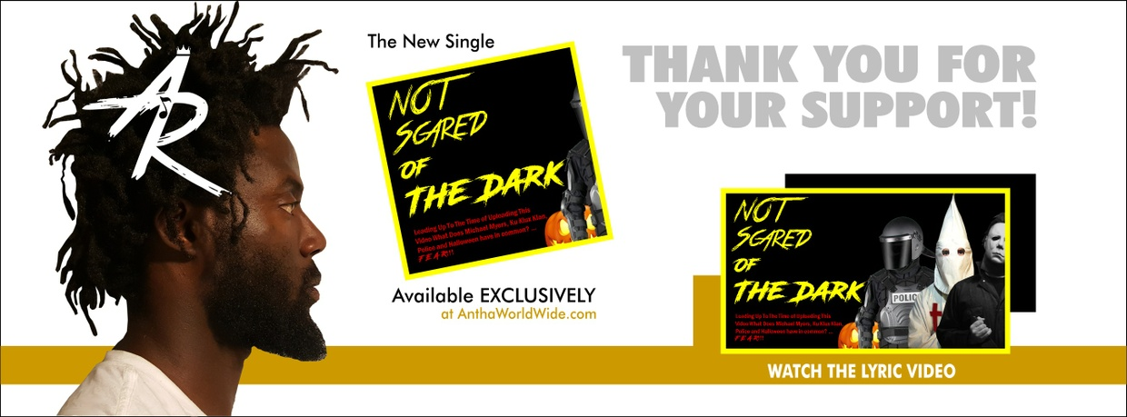 NOT Scared of The Dark by Antha REdNOTE [Single]