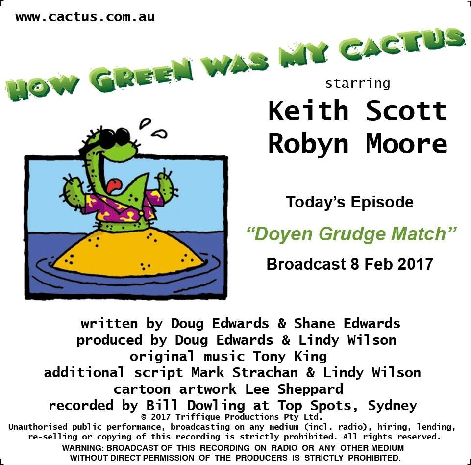DOYEN GRUDGE MATCH (8.2.17)