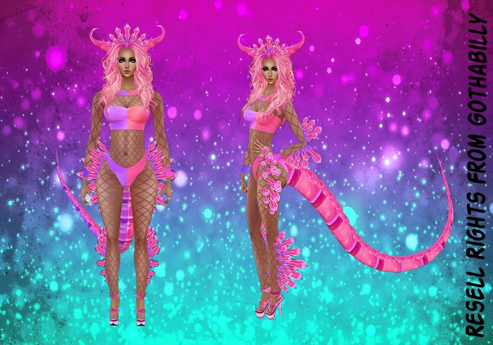 ZDragon Pink Bundle Exclusive Catty Only!!!! In Sizes RL, RLL, RLS