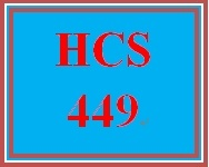 HCS 449 Week 4 Write a Great Cover Letter