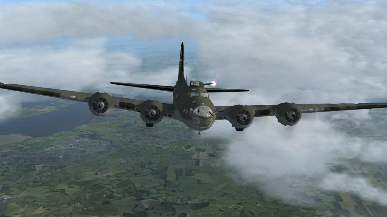 Aeroplaneheaven B17 Flying Fortress