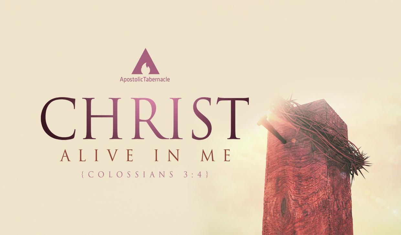 """Pastor Sam Emory 04-16-17am """" Christ Alive In Me """" MP3"""