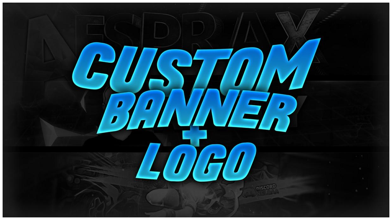 Custom Banner + Logo