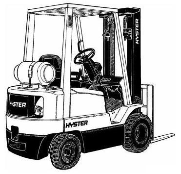 Hyster Diesel/LPG Forklift Truck D010 Series: S25XM, S30XM, S35XM, S40XMS Service Manual