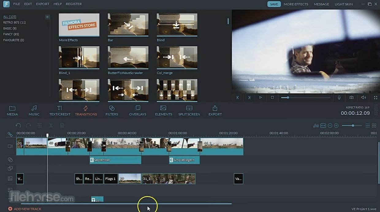 FILMORA - Video Editing Simplified