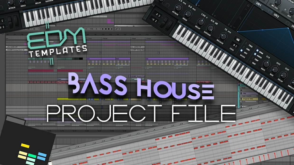 Ableton Live Bass House Template 13.05