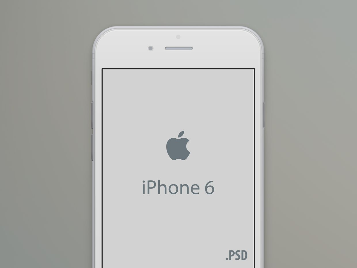 iPhone 6 Mockup - PSD