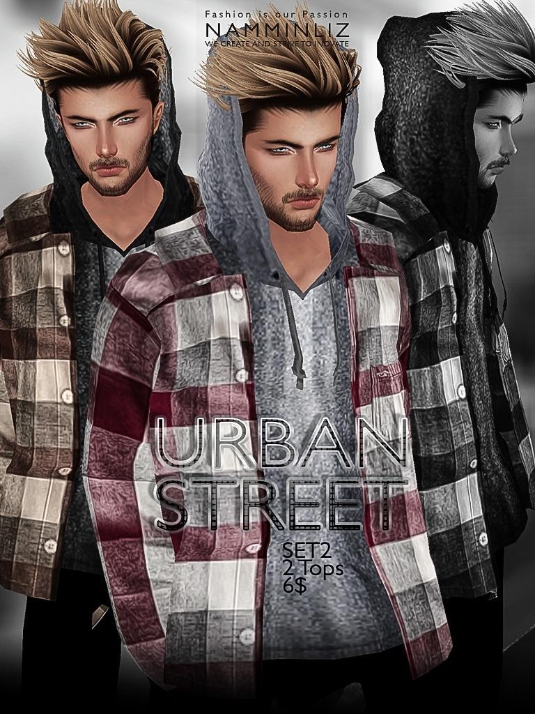 URBAN STREET SET2 imvu JPG texture File sale NAMMINLIZ
