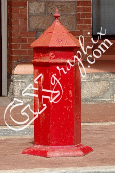Red Victorian Letter Box