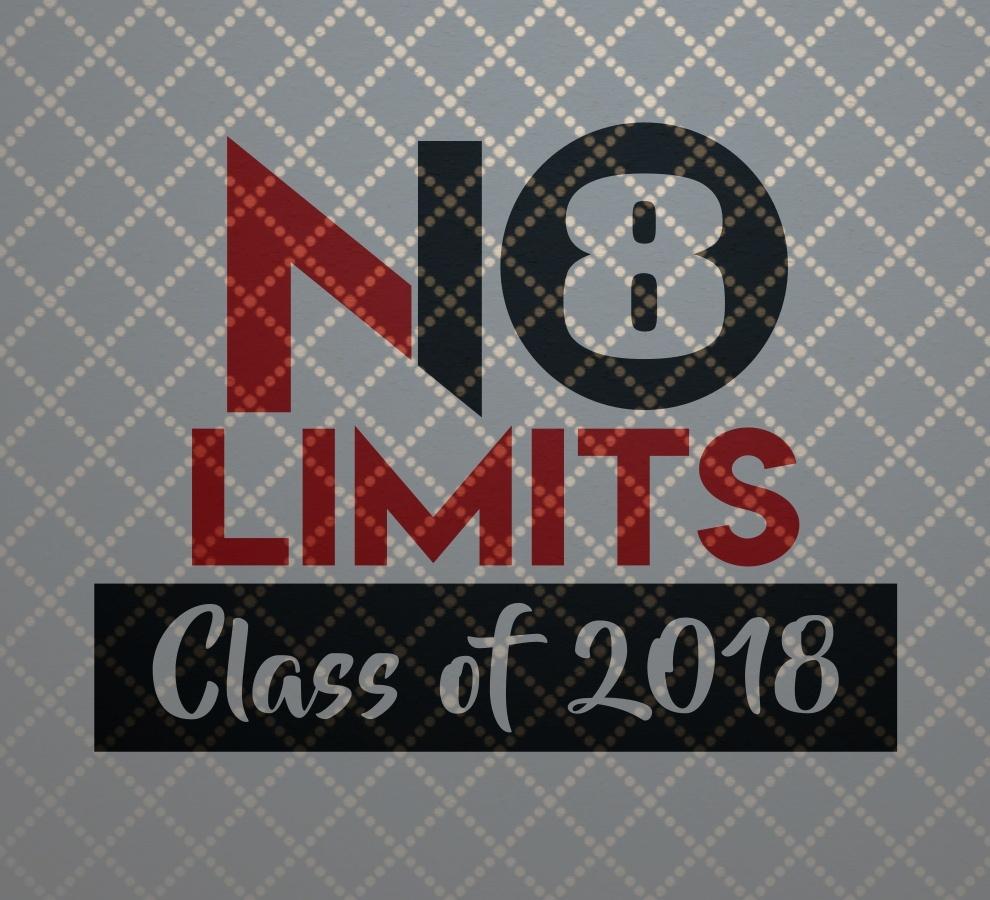 Class of 2018 No Limits SVG File