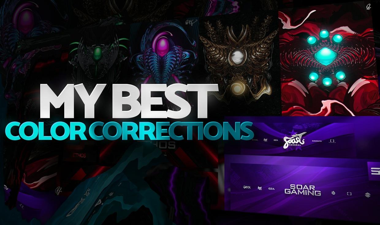 Praizist's Best Color Correction Pack