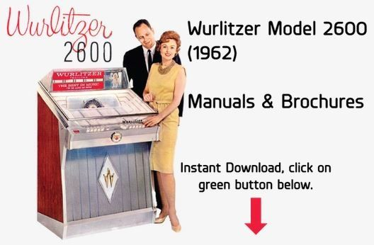 Wurlitzer Model 2600, 2610  (1962)