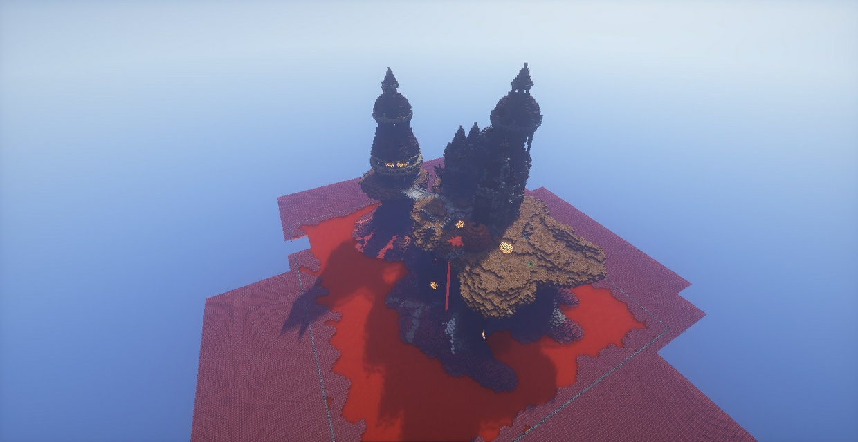 Glowstone Mountain / Nether Spawn