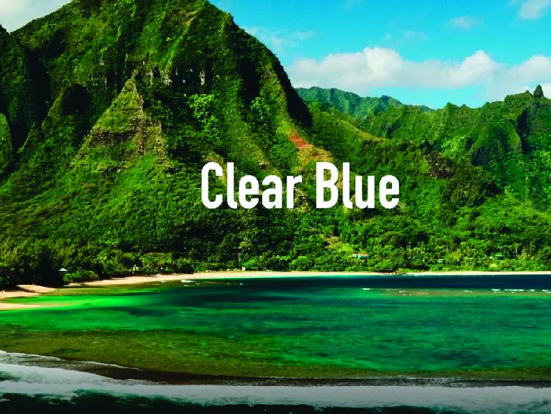 Clear Blue Song