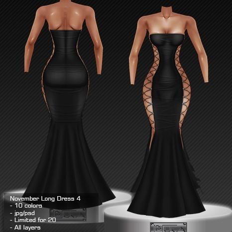 2013 Nov Long Dress # 4