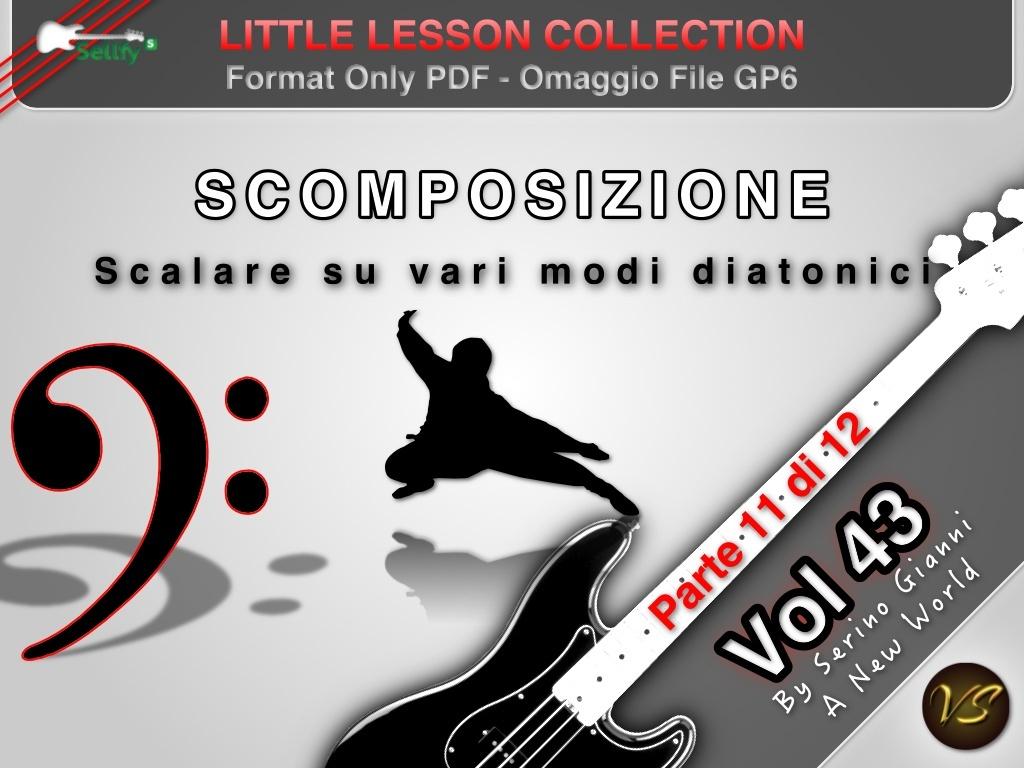 LITTLE LESSON VOL 43 - Format Pdf (in omaggio file Gp6)