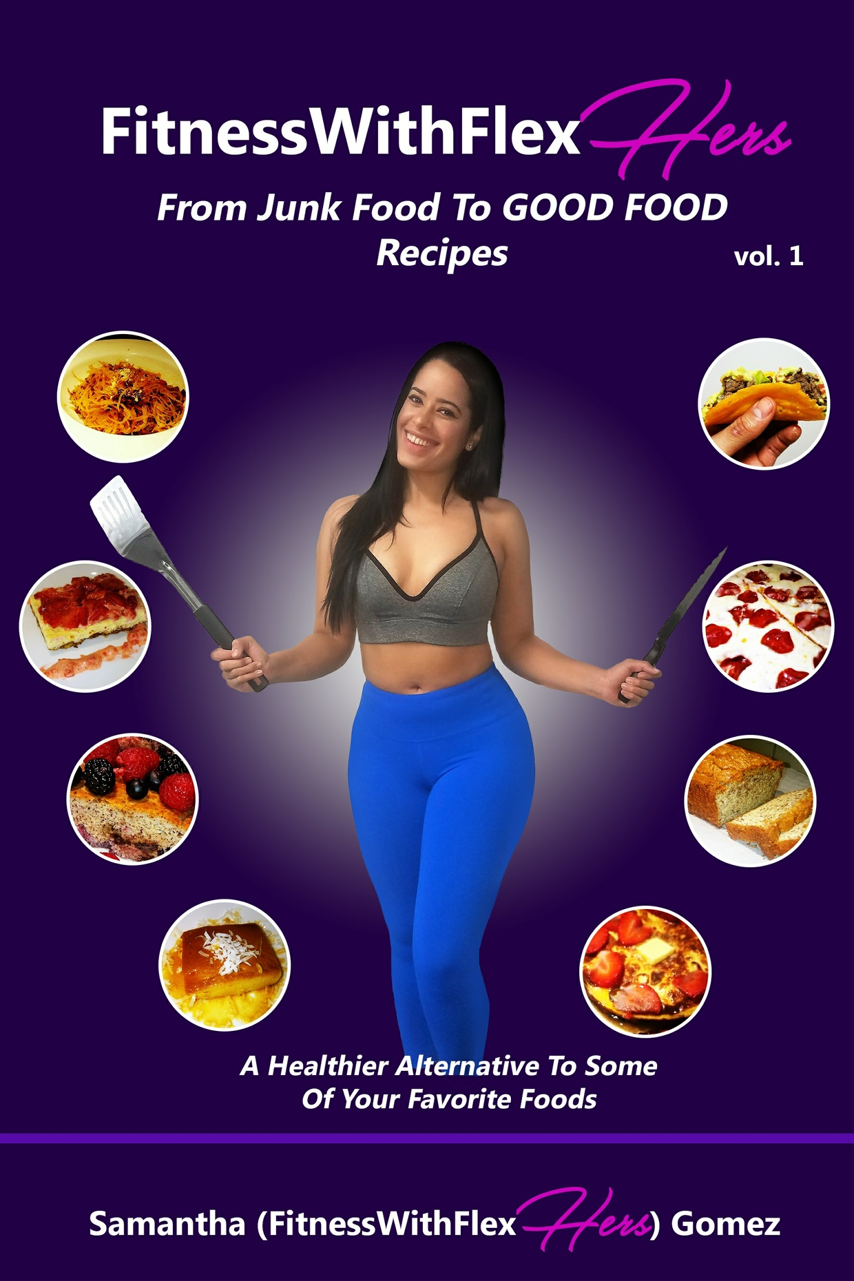 FitnessWithFlexHERS From Junk Food To GOOD FOOD Vol 1