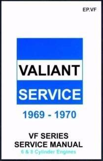 Chrysler Valiant VF Series Service Repair Manual