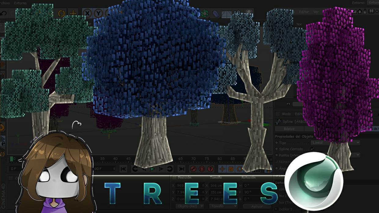Minecraft tree's pack  - pau4312