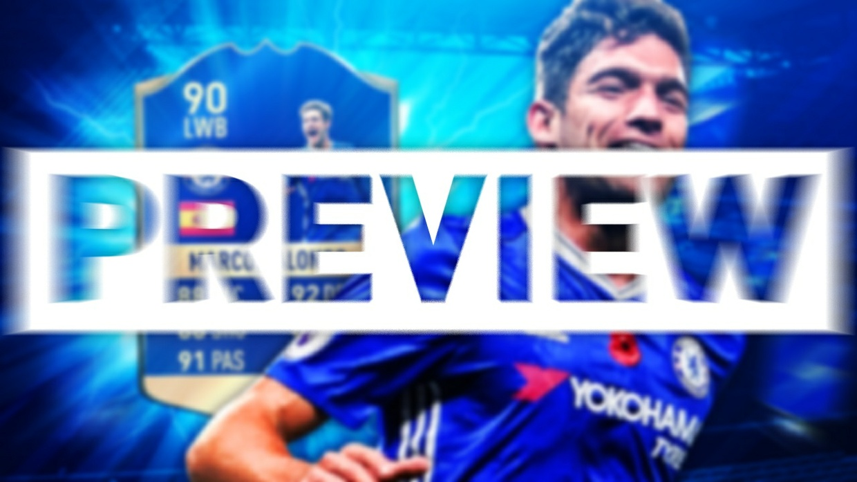 FIFA 17 TOTS MARCOS ALONSO THUMBNAIL TEMPLATE
